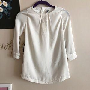 Karl lagerfeld kids white blouse
